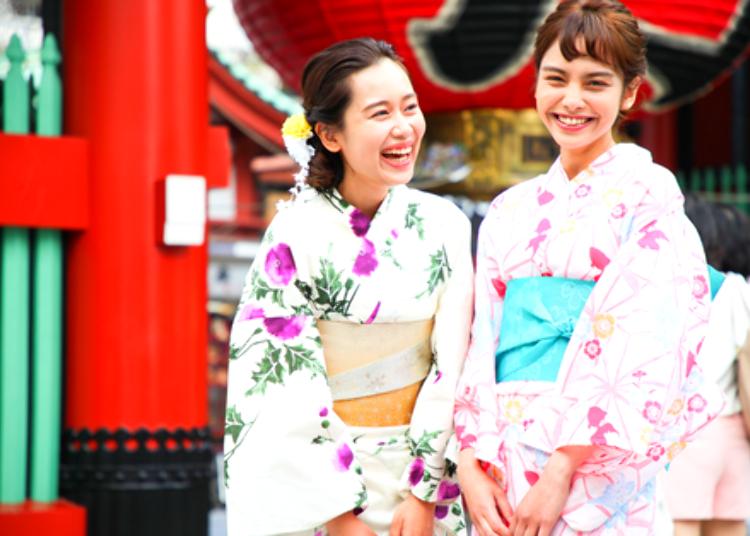 3. 和服出租WABISABI:推薦給想穿著和服,盡情享受日本文化的人
