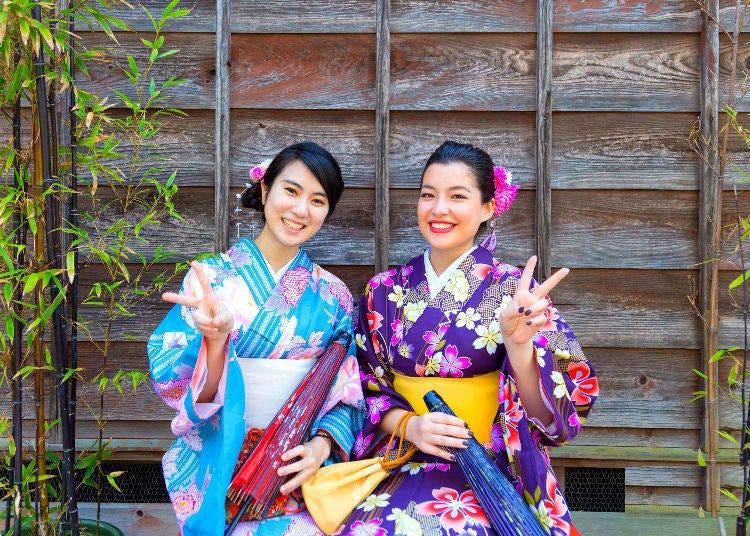 4. 和服出租柚屋(yuzuya):最有人氣的拍照攝影方案,在小江戶留下美好回憶吧!