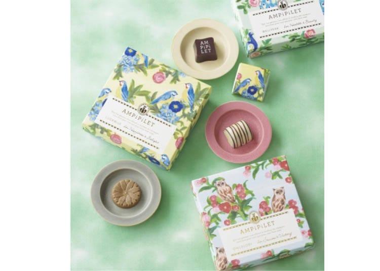 ♥500日圓也能買到質感與夢幻兼俱的巧克力品牌  【銀座Cozy Corner】