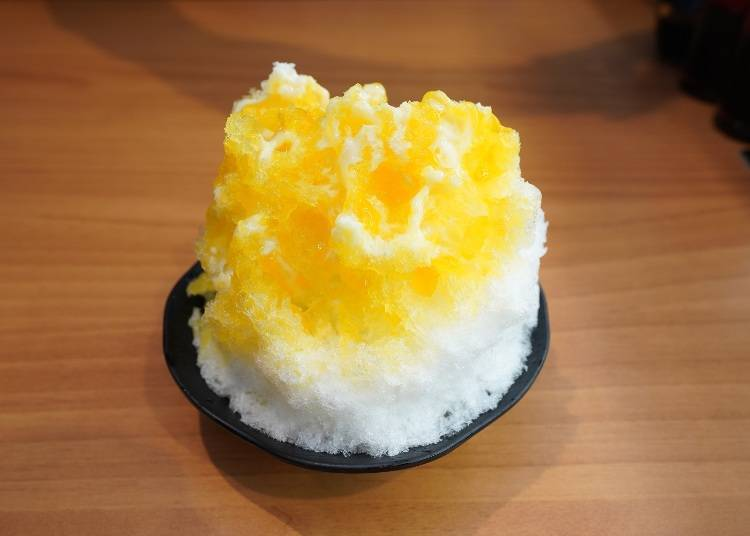 Recommended Side Menu #5: Authentic Sweets! Fluffy Shaved Ice