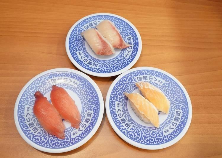 Kura-zushi's Top 3 Popular Items?!