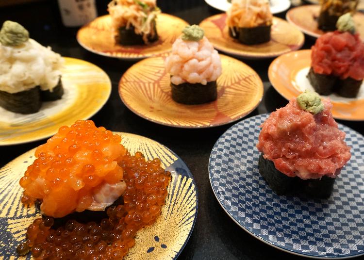 Mountains of Sushi in Ueno for Under $1?! Get Huge Gunkan Rolls at Tokyo's 'Miura Misaki Kou'