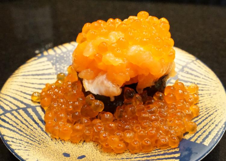 Not Just Tuna – A Wide Variety of Gunkan!