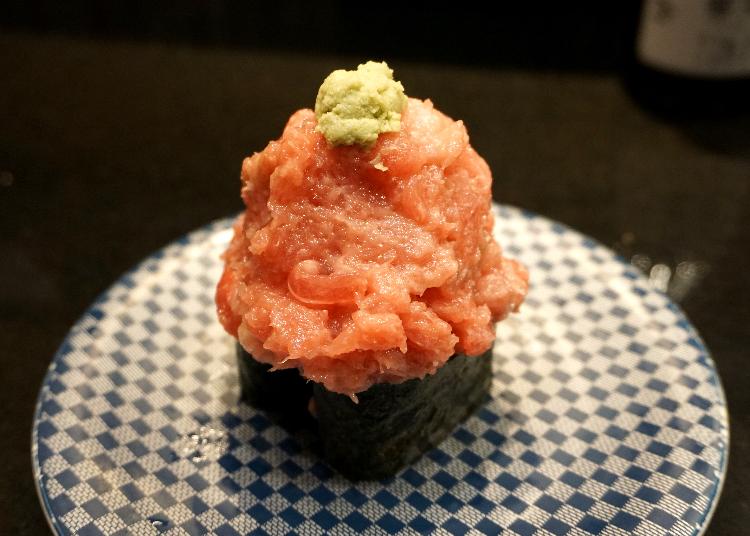 「三浦三崎港」其他高品質鮪魚壽司也令人垂涎三尺