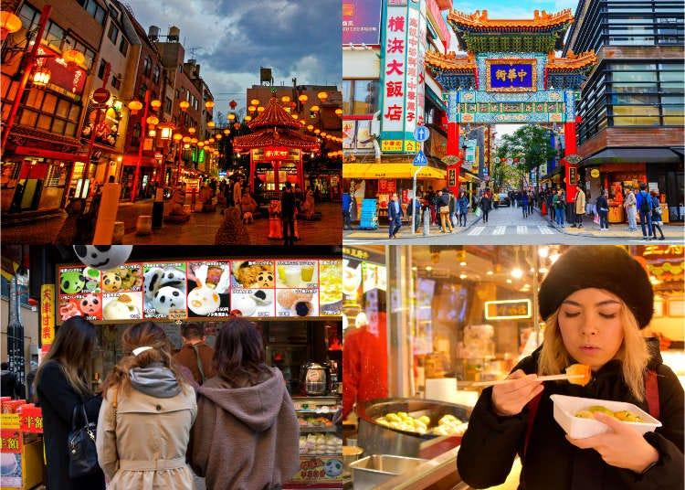 Eating Around Yokohama Chinatown While 'Snackwalking' on Street Foods!