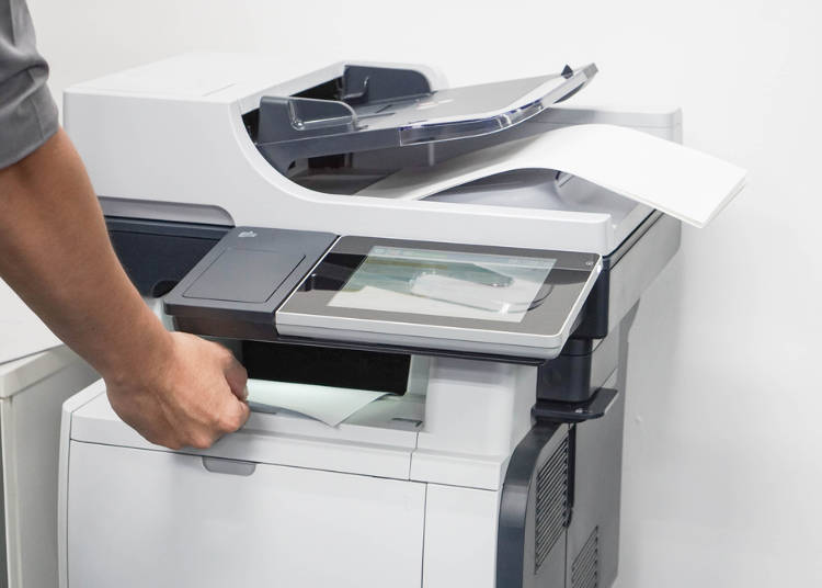 A Lot of Foreigners Go to Convenience Stores to Use the Photocopier!