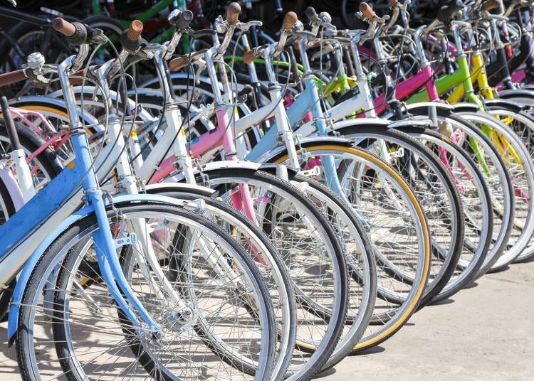 5.連腳踏車都有賣?非食材類的商品也一應俱全