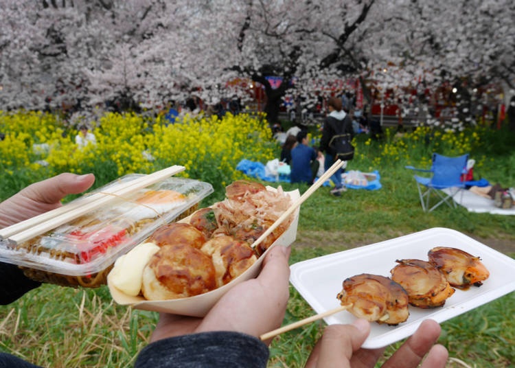 7. Make sure you sample the spring cuisine