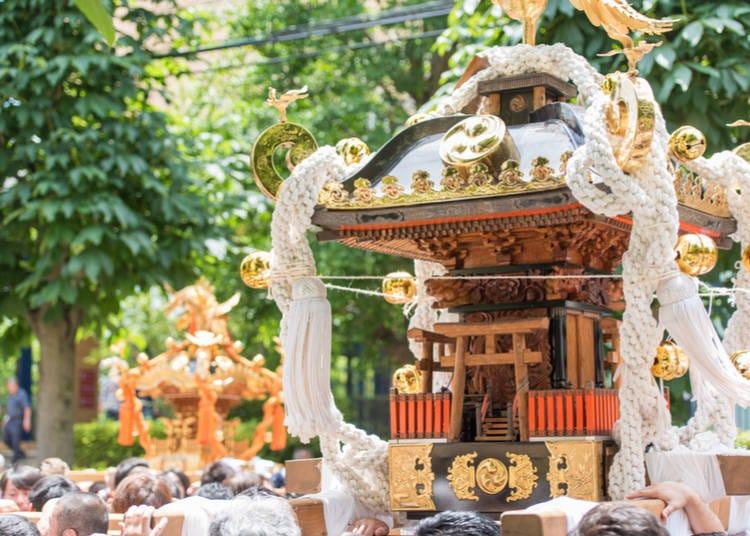 8. The Spring calendar is chock-full of festivals!