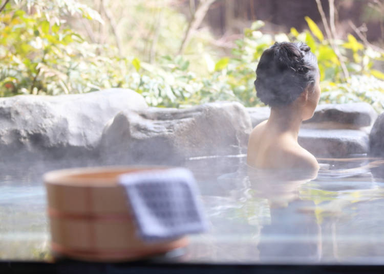 9. Not too late to experience an onsen!