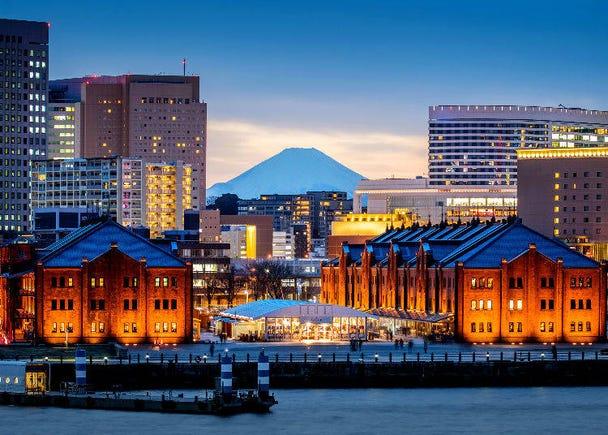 1.東京とは一味違った国際色豊かな街並みが魅力