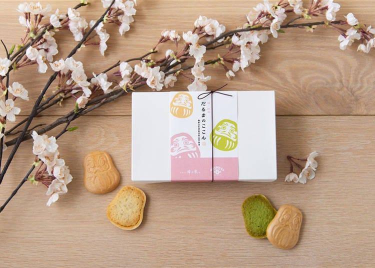 ■季節限定で味わえる老舗の味「だるまのここん 桜×抹茶」
