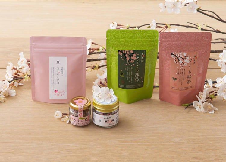 은은한 벚꽃 향기를 식탁에 까지! '사쿠라노 오차'시리즈