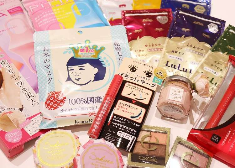 Cheap—Yet Quality Japanese Cosmetics! Top 9 Picks for Casual Souvenirs