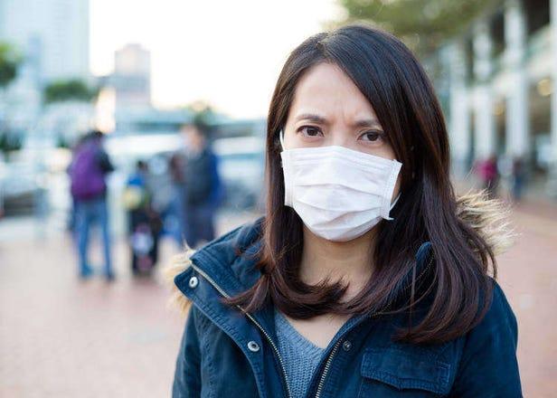 일본에 온 외국인이 느끼는 꽃가루 알레르기