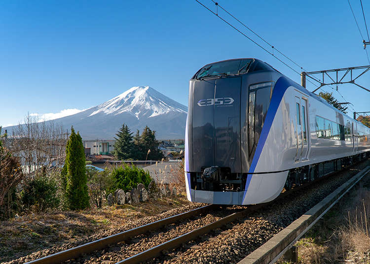 The Fuji Excursion: Japan's Hottest New Train Takes You Right to Mt. Fuji! (Times, Fares and more) - LIVE JAPAN