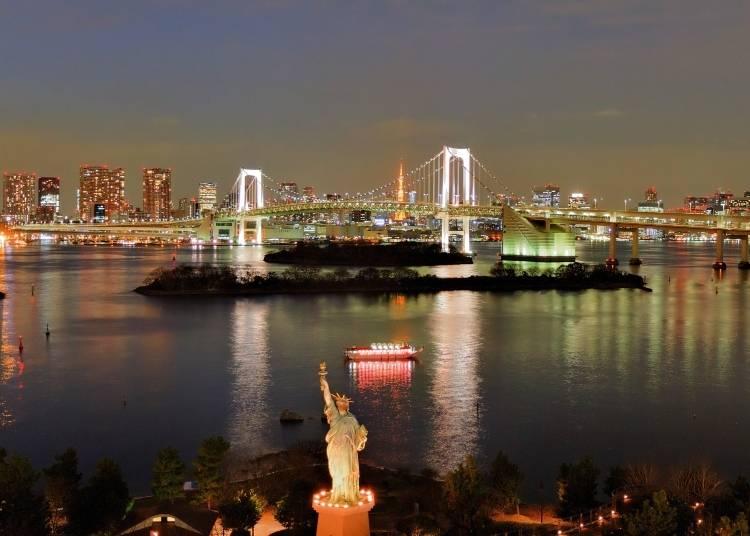 #10. お台場 - Odaiba (1.9m Photos)