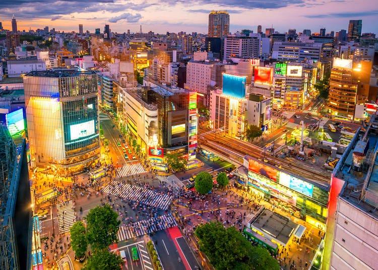 #12. 渋谷駅前交差点 - Shibuya Crossing (295.5k Photos)