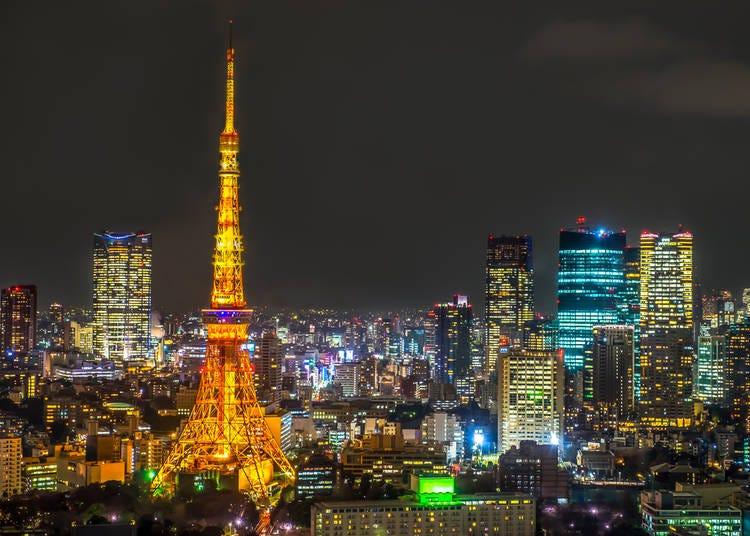 #1. 東京タワー - Tokyo Tower (1.8m Photos)