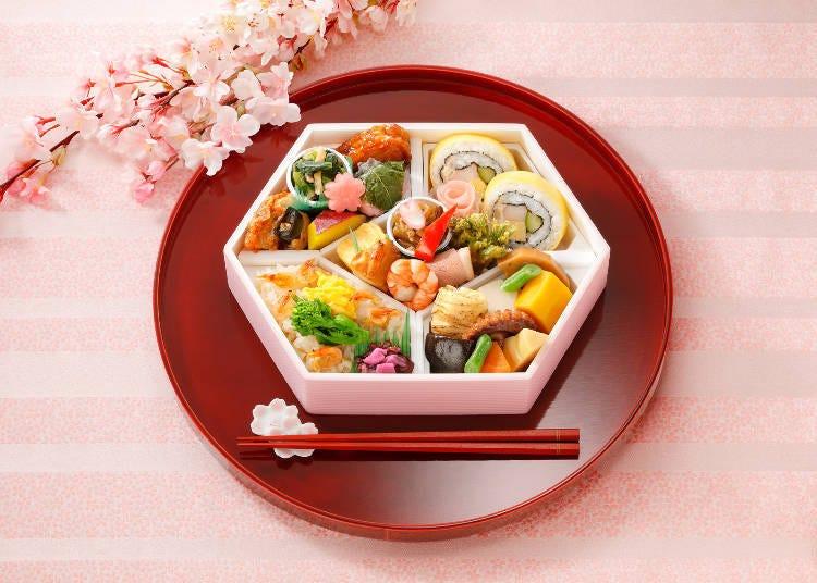 "9. Nadaman Chubo: ""Hana No Tayori (Flower Tidings)"" Is the Perfect Seasonal Set Meal to Bring Along for Hanami"