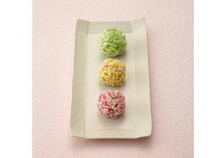 10. Meika Hyakusen: Intricate Namagashi Delicately Crafted by Artisans
