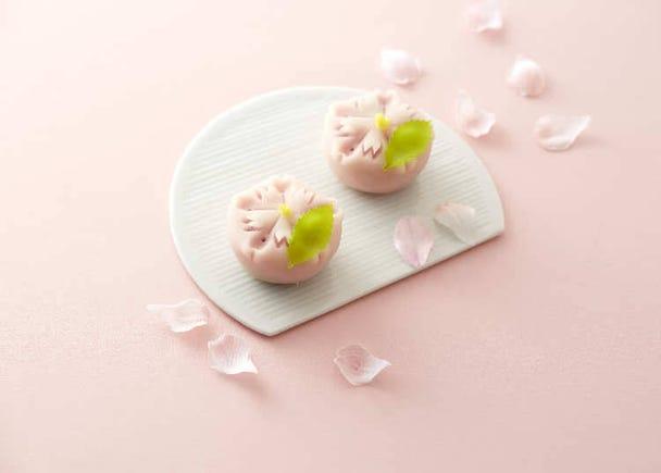 菓匠花見:以櫻花瓣為設計概念的「嚴選櫻花生菓子」