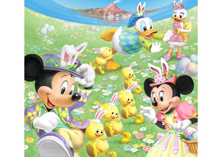 東京迪士尼海洋的「迪士尼復活節」