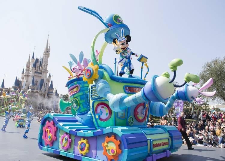 東京迪士尼樂園的「迪士尼復活節」