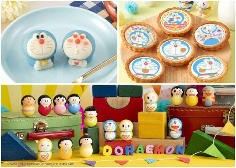 日本3月是哆啦A夢的天下!和菓子、起司塔、食玩各種可愛到捨不得吃的甜點要來攻佔你的心~