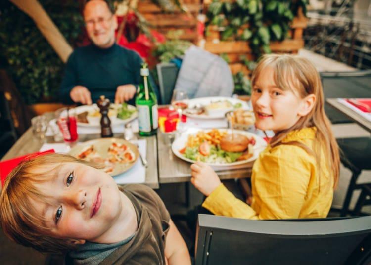 2. Family restaurants