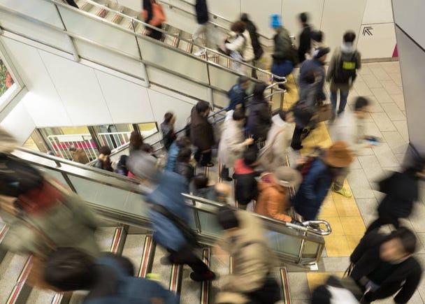 2 – Lack of elevators/escalators in train stations