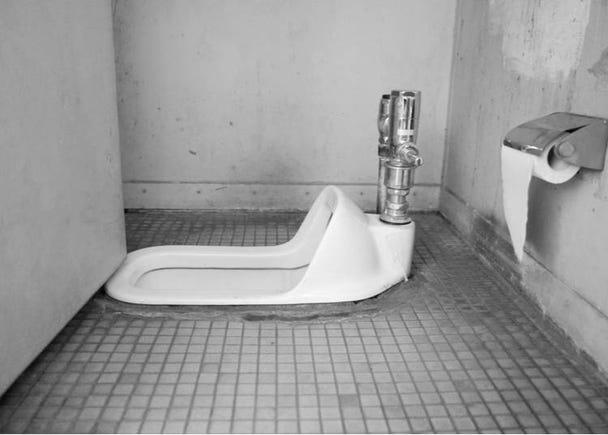 5 – Squat toilets