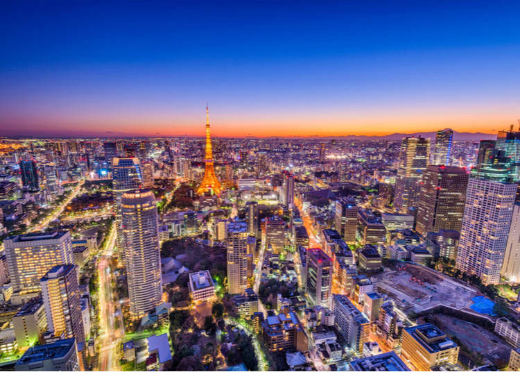 12 – The sheer size of Tokyo