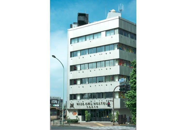 2. Wise Owl Hostels Tokyo
