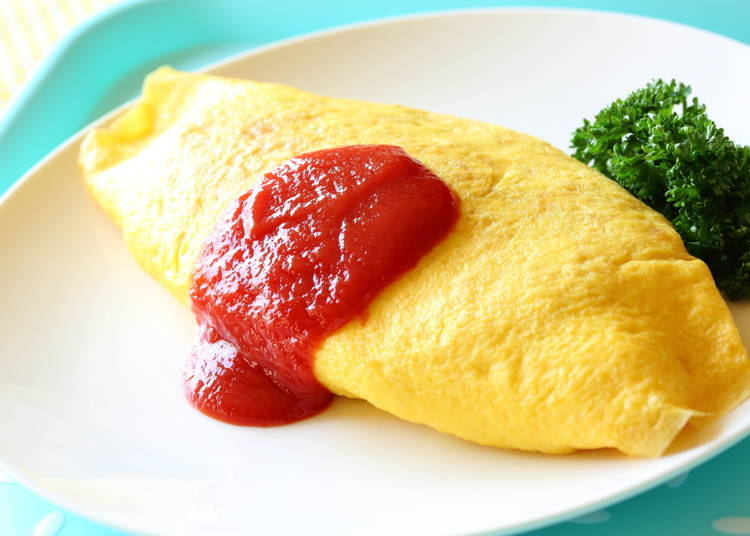 卵にケチャップ…愛され要素しかない「オムライス」