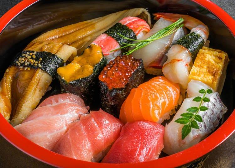 鮮度の良さは日本ならでは!「刺身と寿司」