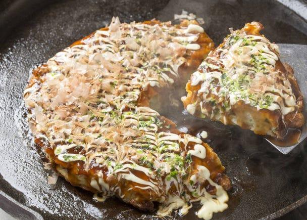 在日本可以輕鬆吃到並且種類豐富!「什錦燒(大阪燒/廣島燒)」