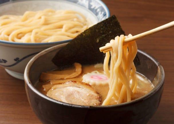 在自己的國家有吃過拉麵,但「沾麵」卻是第一次!