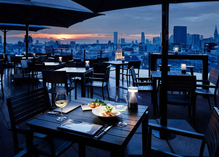 2. Feed your belly – and your eyes, with stunning Shibuya night views