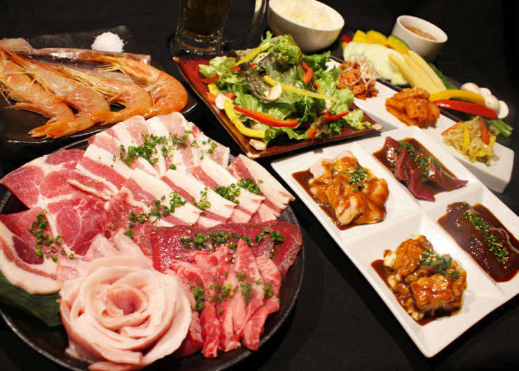 3. Walk up a hunger - then chow down at one of Shibuya's buffet restaurants!