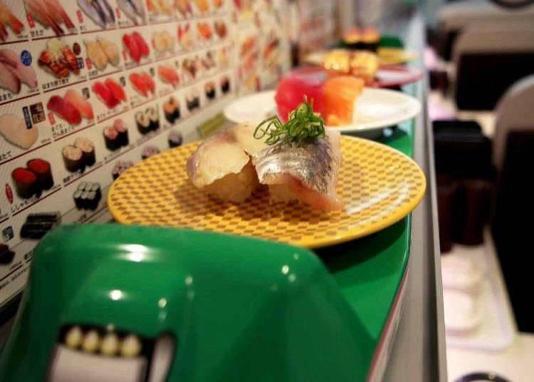 7. Order up some 'high-speed' food at Japan's new-style conveyor sushi - Exciting thing to do in Shibuya!
