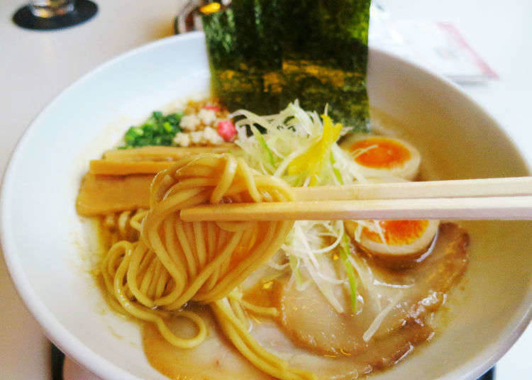 8. Grab a bowl of Japan's world famous ramen – A taste explosion for your mouth