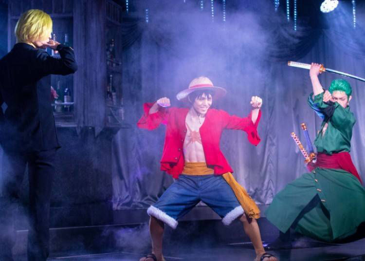 "Power-up 2: Lose Yourself in an Original Drama at the All New Live Show ""One Piece Live Attraction""!"