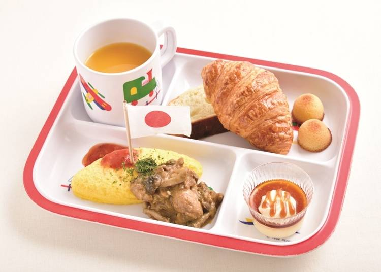 Enjoy your meal and play with Doraemon!