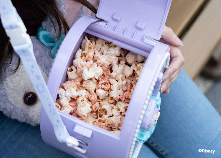 4:00 p.m.: Recharge with popcorn in a wearable box!