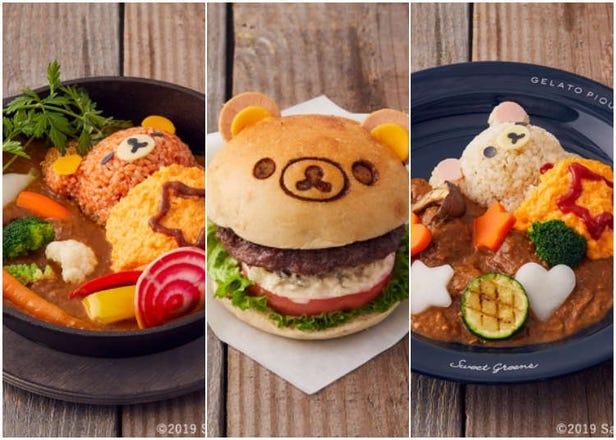 日本人氣法式咖啡館與拉拉熊聯名出擊!可愛的拉拉熊餐廳就是要萌得你嫑嫑的~