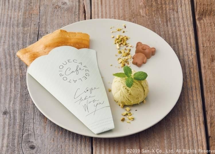 Rilakkuma's Sugar and Butter Crepe - 1280 yen