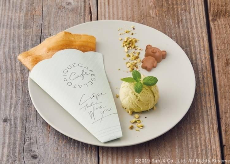 拉拉熊奶油糖法式可麗餅(リラックマのシュガーバタークレープ)1280日圓