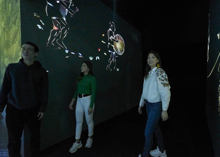 第八:美術館裡很黑嗎?會不會迷路?在館內的注意事項!