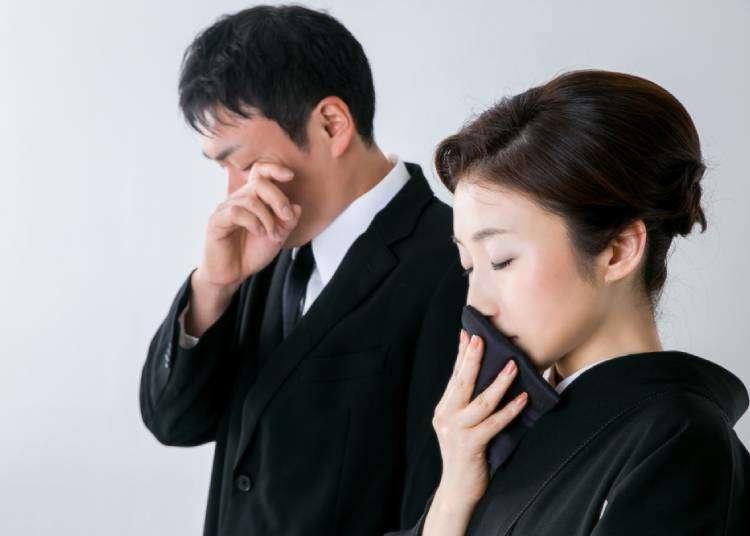 정이없고 냉정한 일본의 장례식? 표현의 방식이 다를 뿐.